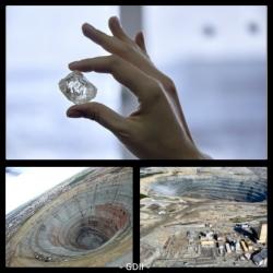 الماس 230 قیراطی